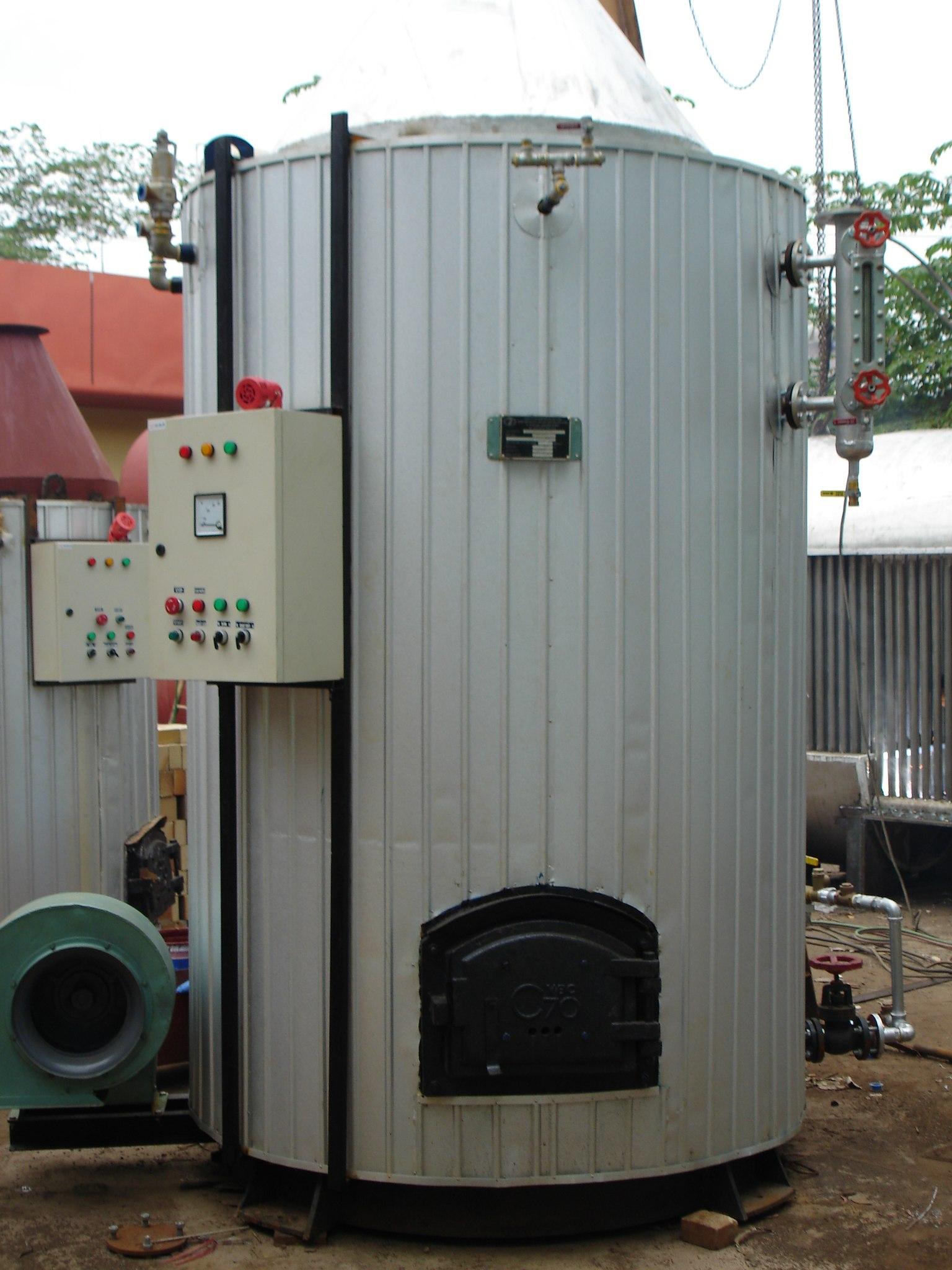 Lò hơi đốt than - củi - Biomas 01
