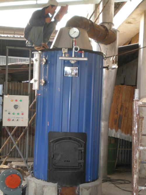 Lò hơi đốt than - củi - Biomas 03